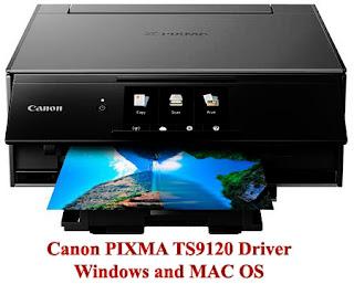 Canon PIXMA TS9120 Wireless Printer Driver Software Windows Mac Os Free Download