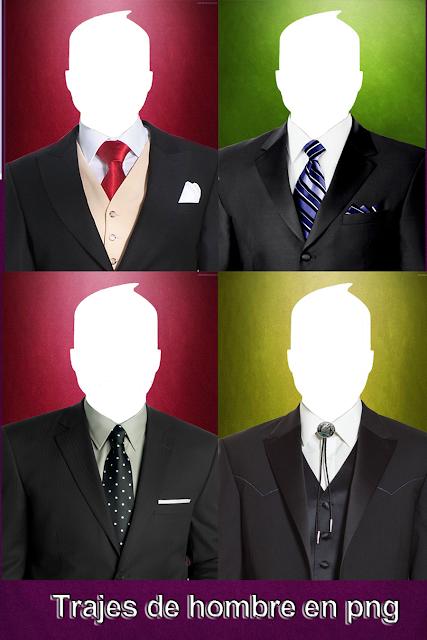 7 diferentes plantillas de trajes para hombre