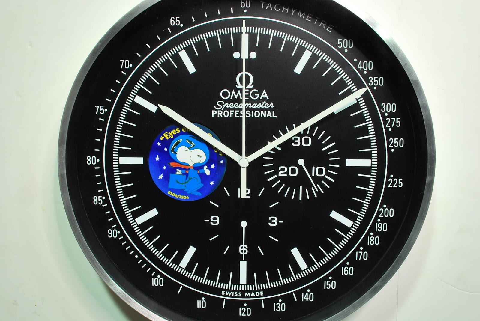 Where To Find Omega Snoopy Speedmaster Clock Wall Clock