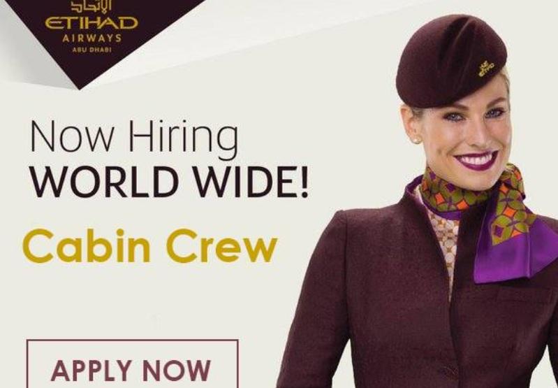 Fly gosh etihad cabin crew recruitment open to all for Cabin crew recruitment 2017