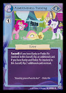 My Little Pony Assertiveness Training Premiere CCG Card
