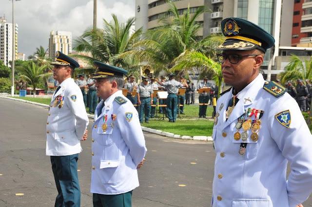 Governo promove 82 Oficiais da Polícia Militar