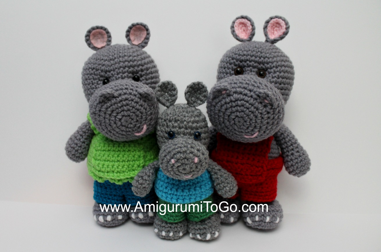 Baby Knitting Patterns Crochet Amigurumi Hippo Free Pattern ... | 865x1310