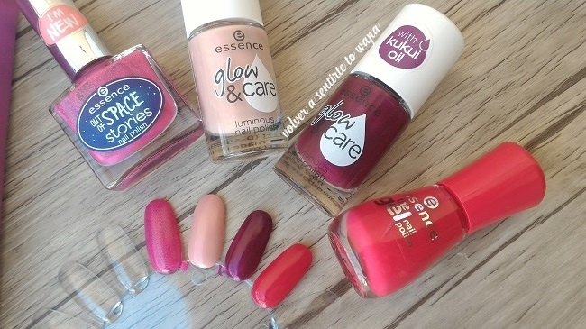 Nuevos esmaltes de Essence - Out of Space Stories y Glow & Care