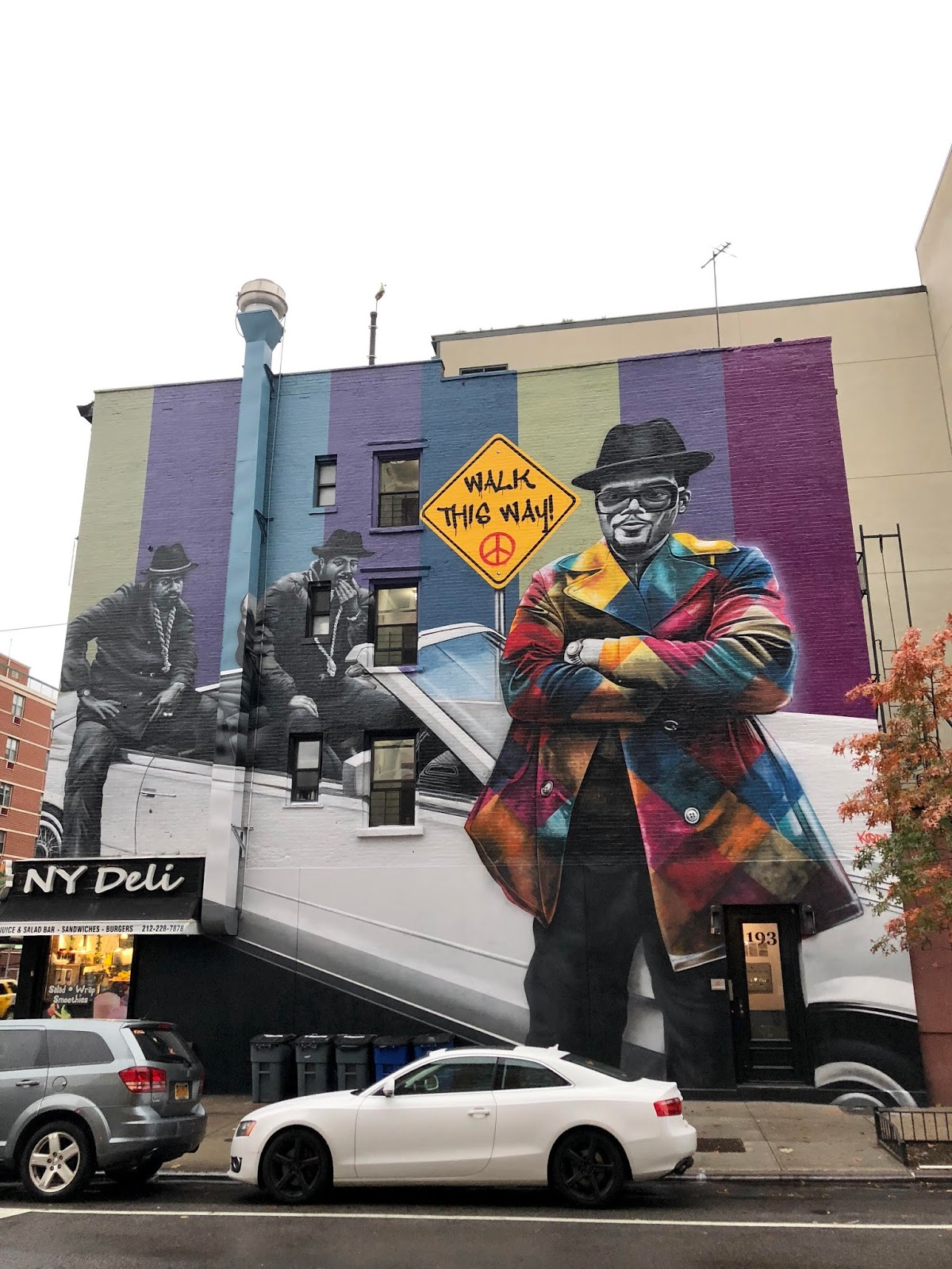 Ev Grieve It S Like That The Completed Run Dmc Mural On 12th And A