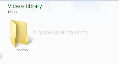 Cara mengganti icon folder komputer tanpa software