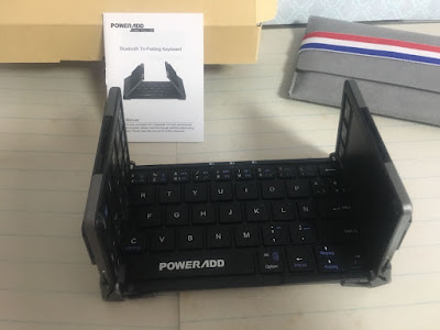 teclado inalámbrico, poweradd,