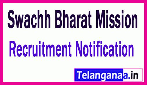 Swachh Bharat Mission SBM Recruitment Notification
