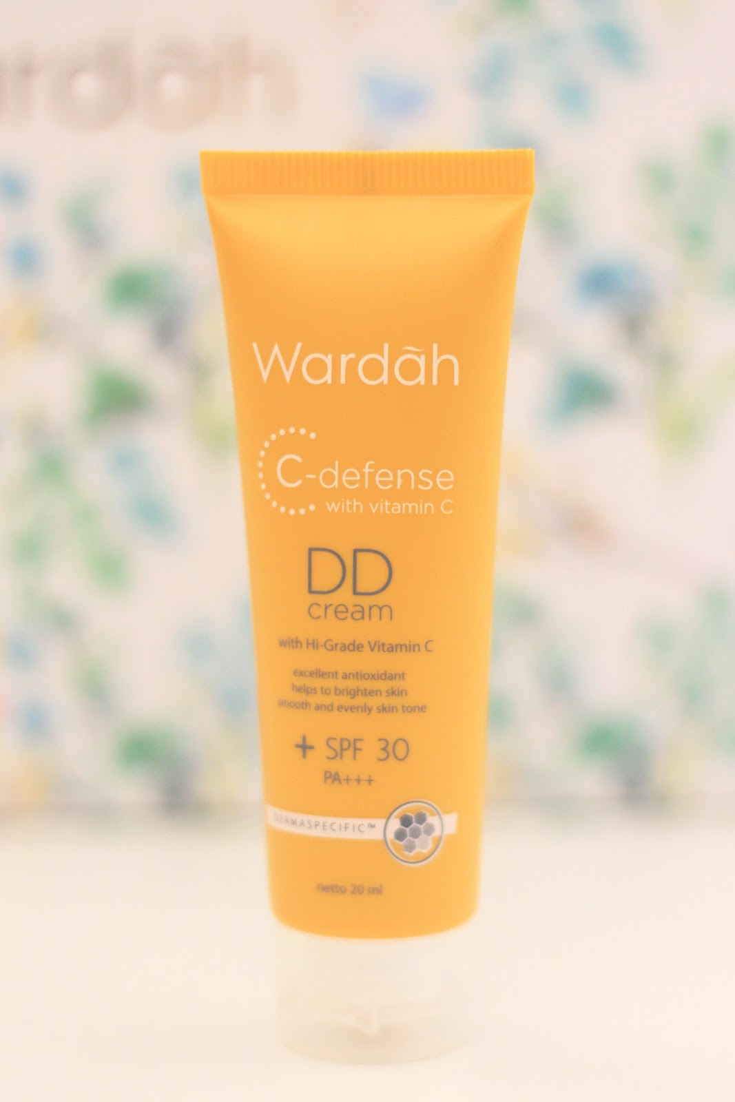 WARDAH C-DEFENSE DD CREAM | www.bigdreamerblog.com