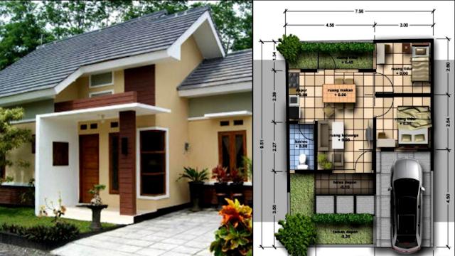 Rumah Minimalis Sederhana Nan Mungil