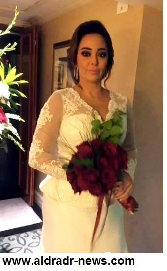 """الصور الأولى من حفل زفاف النجمة """"داليا البحيرى"""""""