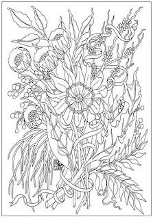 Mewarnai Bunga Untuk Dewasa Bimbingan Belajar29