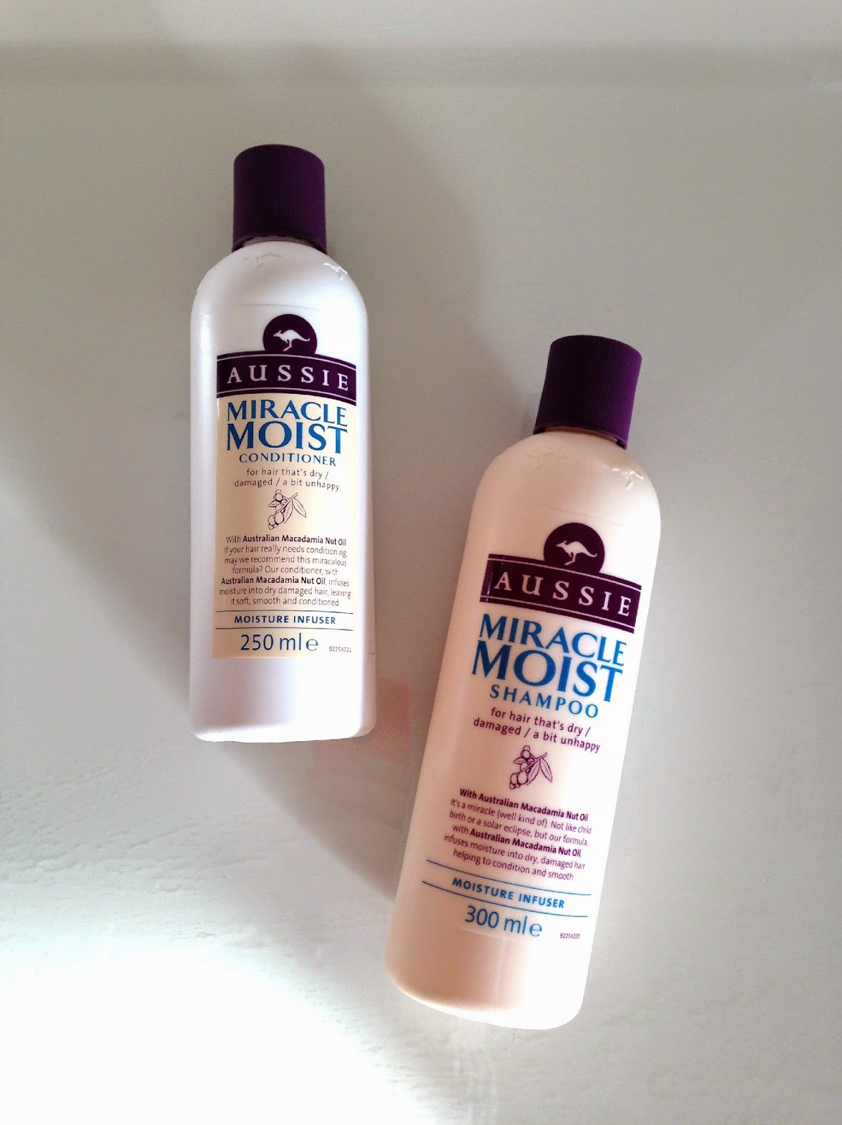 Aussie Miracle Moist Shampoo and Conditioner Review