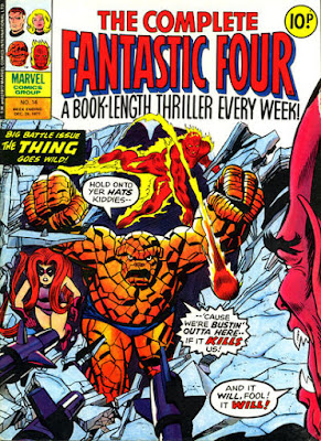Marvel UK, Complete Fantastic Four #14