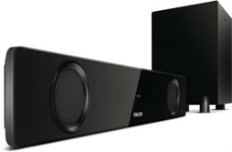 Philips HTL1041 2.1 Channel Bluetooth Soundbar For Rs 5999 at Flipkar