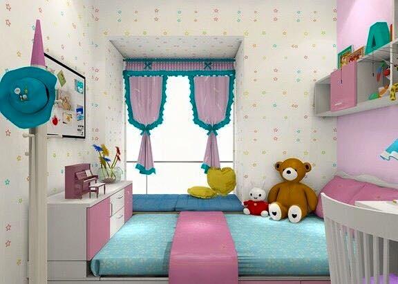 Bilik Tidur Anak Perempuan Remaja
