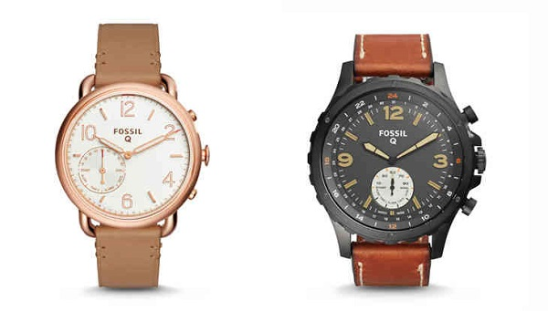 FOSSIL announces Smart Analog Watches