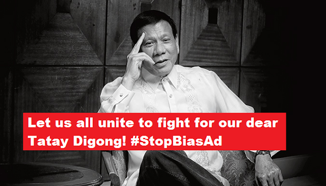 Digong supporters cries foul over Anti-Duterte political ad