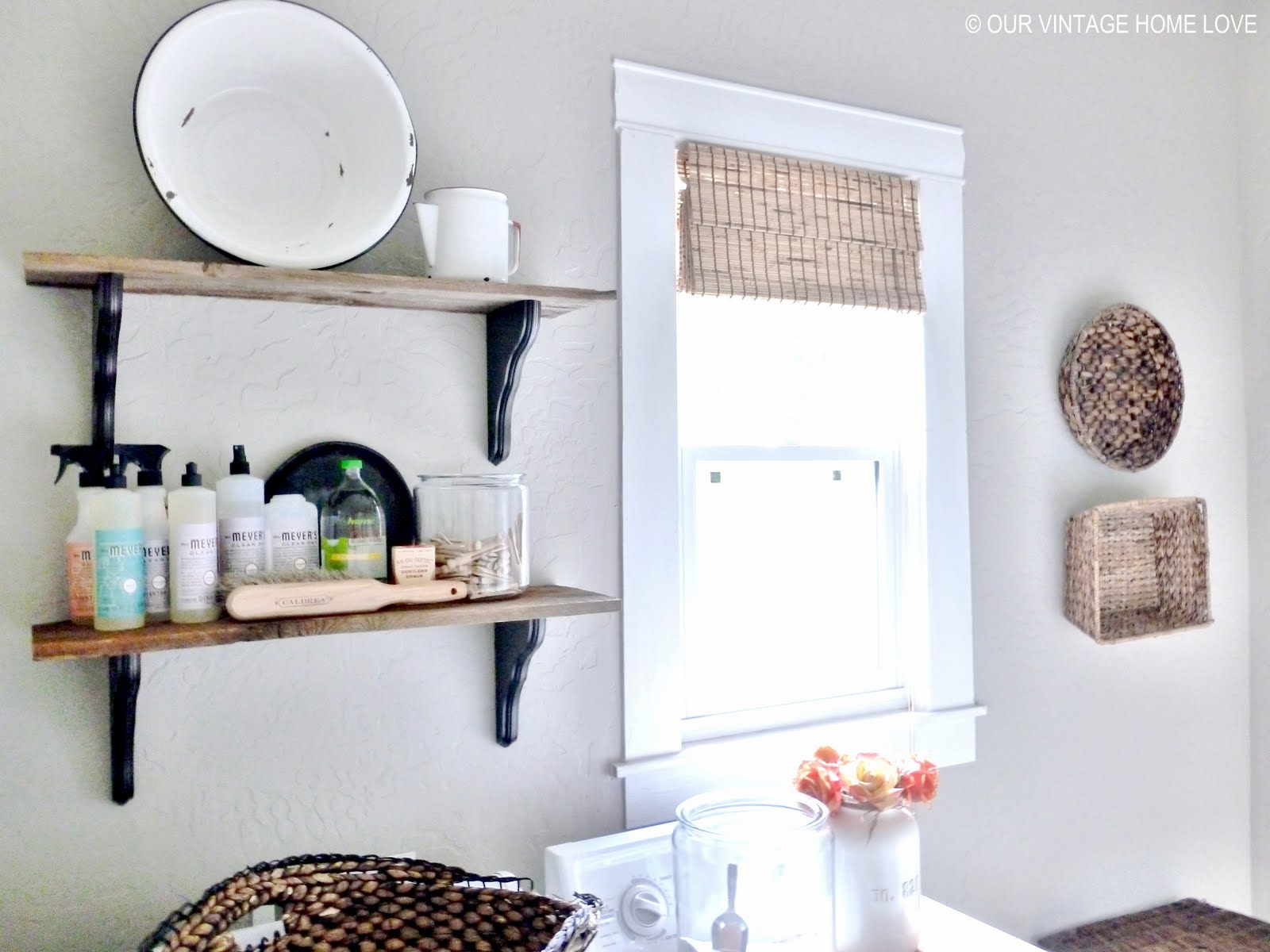 Laundry Room Ideas And A Vintage Ironing Board