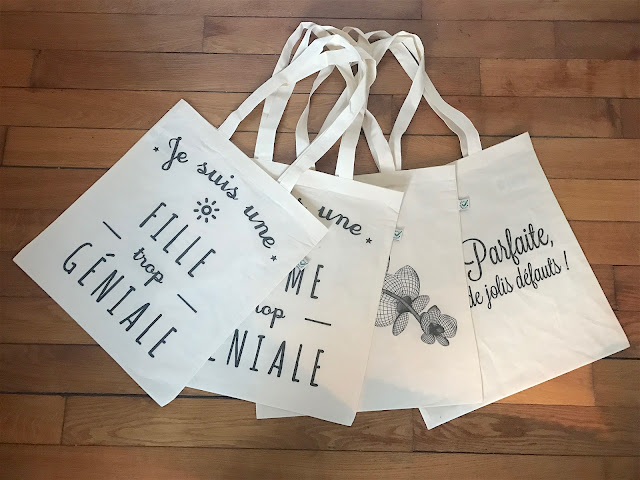 Tote bag à texte - ArteCita ECOFashion