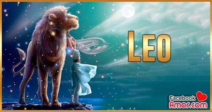 Horóscopo diario Leo para facebook