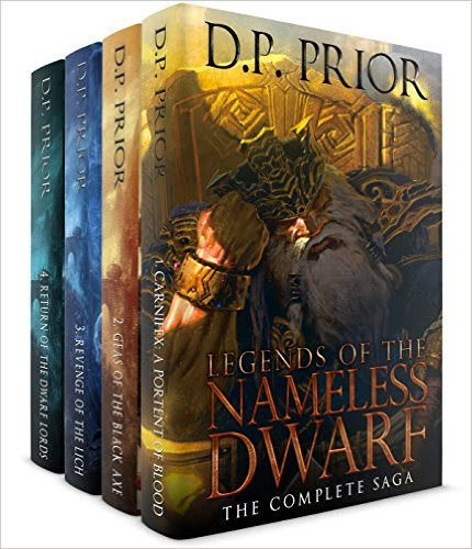 99 CENTS: Legends of the Nameless Dwarf (The Complete Saga) by D.P. Prior
