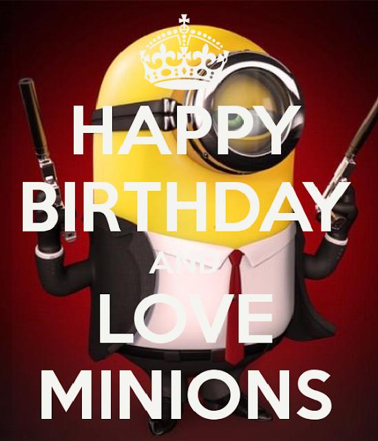 Happy Birthday Minion Wallpaper