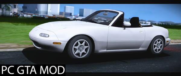 Free Download 1995 Mazda MX-5 Miata 1.8 Mod for GTA San Andreas