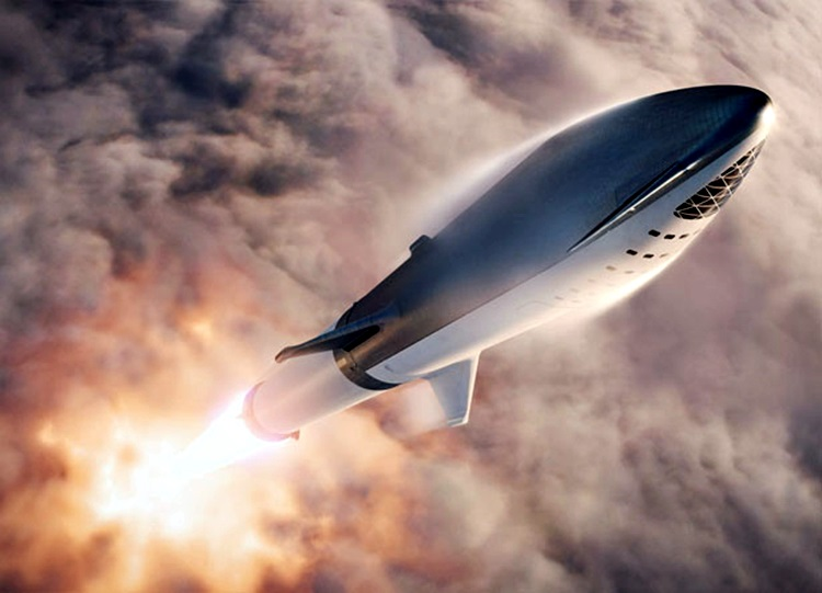 See SpaceX Big Falcon Rocket (BFR) – Futuristic Spaceship Concept By Elon Musk