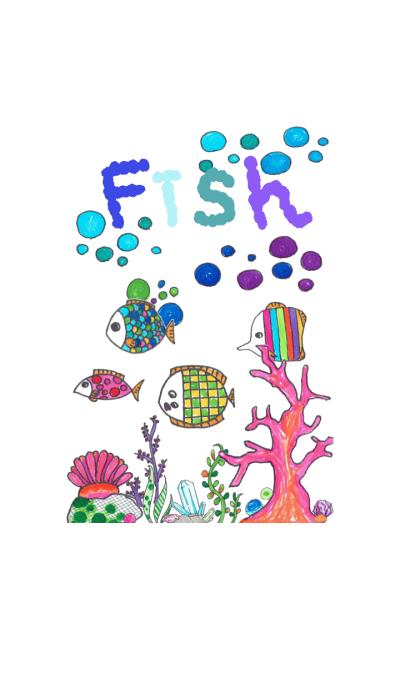colorful Fish Theme