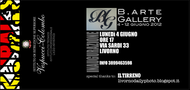 Photo exhibition, The Painted School, B. Arte Gallery, via Sardi, Livorno