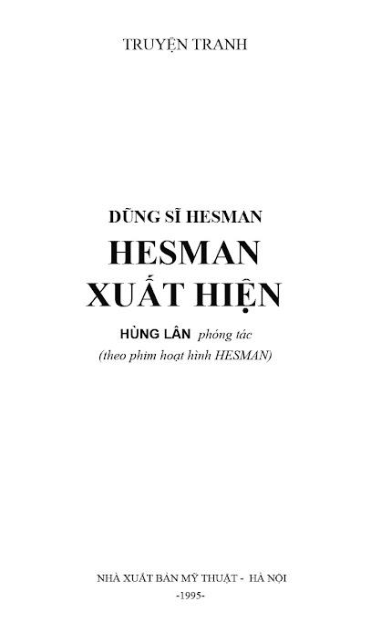 Dũng Sĩ Hesman tập 2 - hesman xuất hiện trang 2