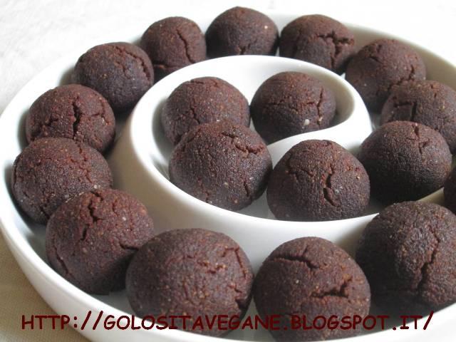 Biscotti cacao, cocco e mandorle