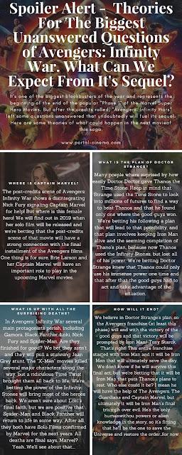 Quatro Teorias Sobre Os Grandes Mistérios de Avengers: Infinity War
