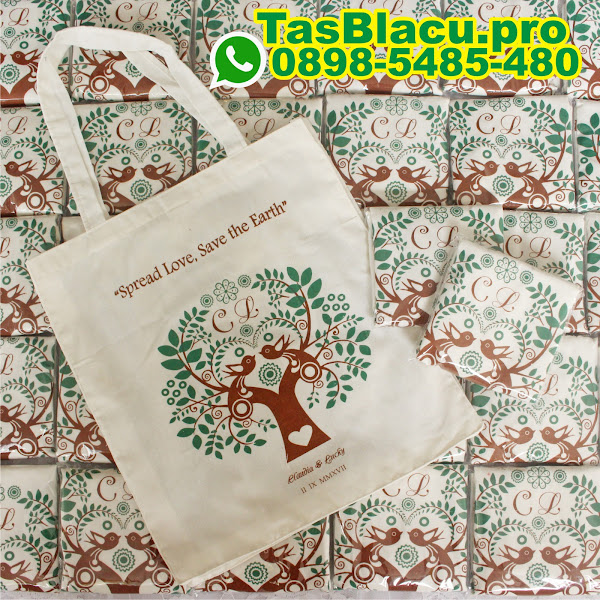 harga goodie bag blacu tas totebag blacu