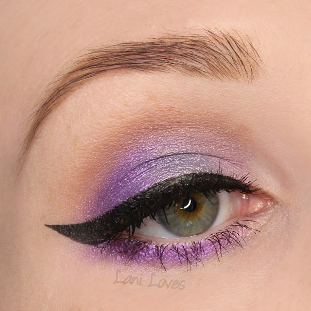 Notoriously Morbid Satan in Heels Eyeshadow Swatches & Review