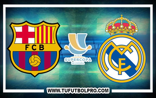 Ver Barcelona vs Real Madrid EN VIVO Por Internet Hoy 13 de Agosto 2017