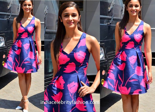 Aliaa Bhatt in Sachin and Babi dress