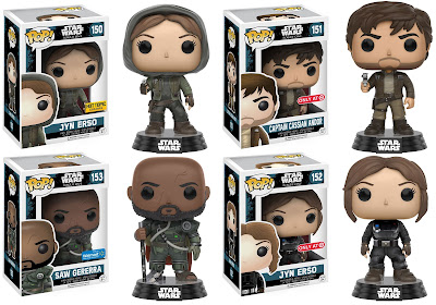 Star Wars: Rogue One Retailer Exclusive Pop! Variant Figures by Funko