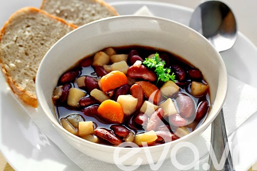 Image result for canh đậu đỏ