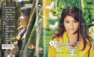 rebecca lousie quento album rebecca www.sampulkasetanak.blogspot.co.id