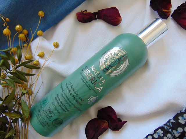 NATURA SIBERICA Natural & Organic - Szampon do zwiększenia objętości do włosów przetłuszczających