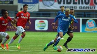 Persib Bandung Kalah dari Bali United 1-2