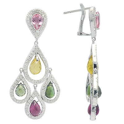Latest Gemstone Earrings