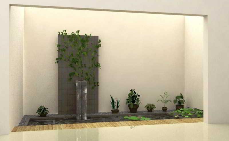 Gambar Taman Kecil Dalam Rumah Minimalis