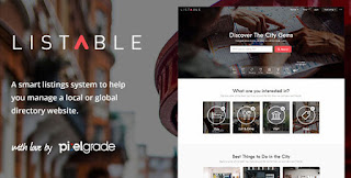 LISTABLE v1.2.1 WordPress Theme Free Downlaod - Themeforest