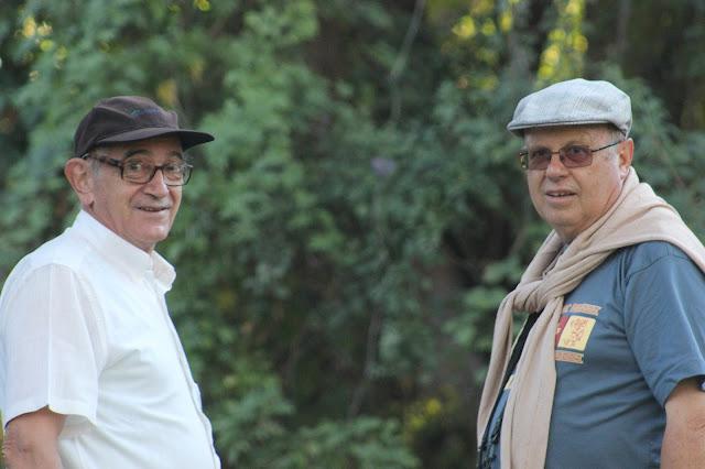 Con José María García en Victoria Falls