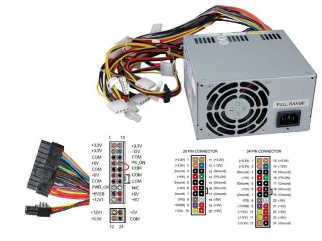 Modern Smps Wire Elaboration - Schematic Diagram Series Circuit ...