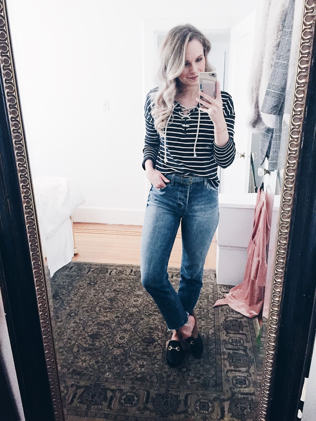 casual weekend date night outfit
