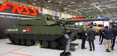 Kaplan MT, Tank Medium FNSS dan PT Pindad